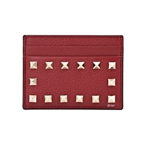 Valentino Bags - New Valentino Rockstud Leather Card Holder
